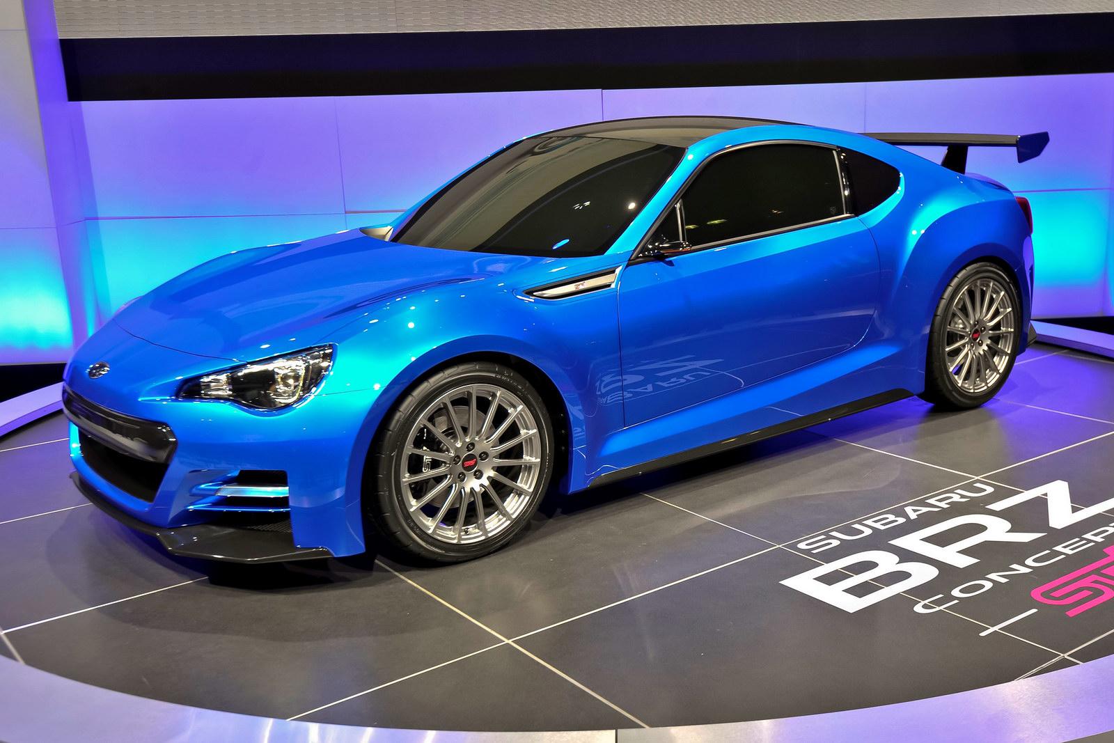 Subaru Brz Sti Concept Side View Turbo Zone