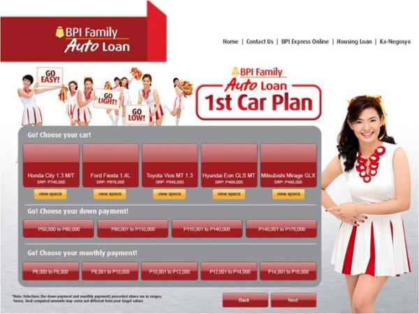 Bpi Nd Car Loan