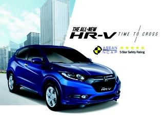 HR-V 5-Star ASEAN NCAP Rating