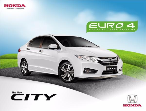 Honda City Euro 4 Approved