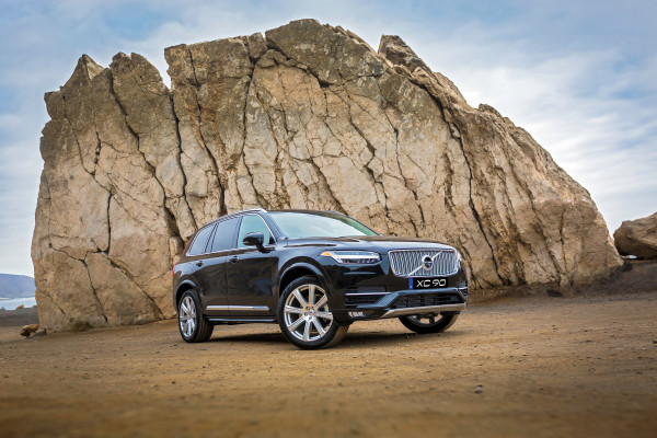 The new Volvo XC90, exterior